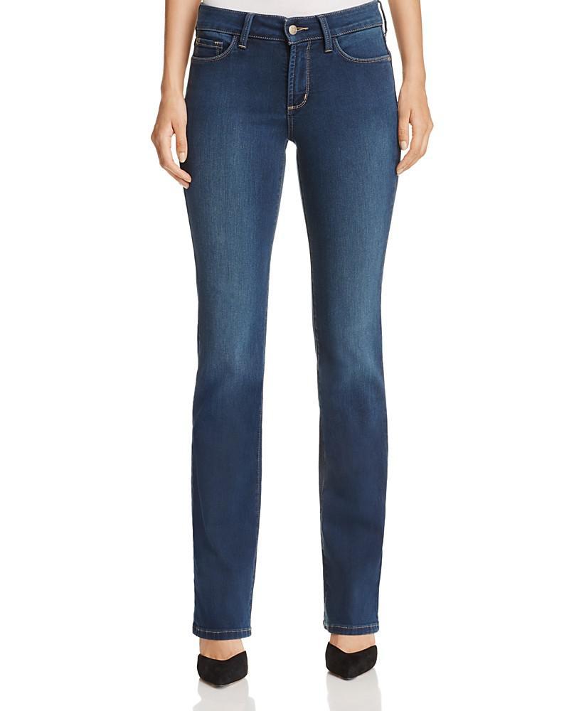 nydj marilyn straight leg jeans in rome