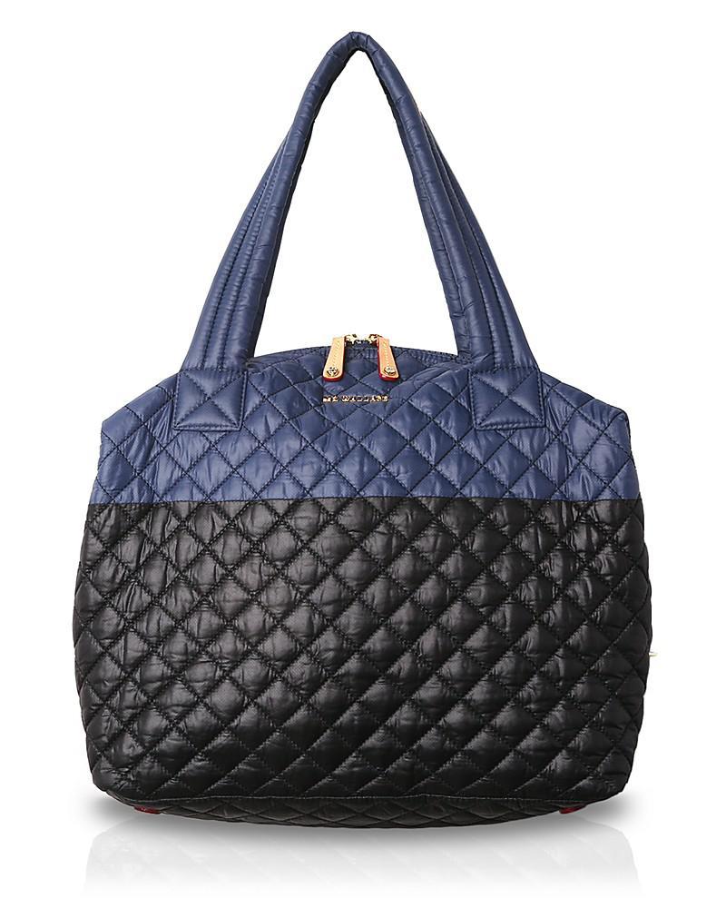 mz wallace oxford sutton color block large nylon satchel
