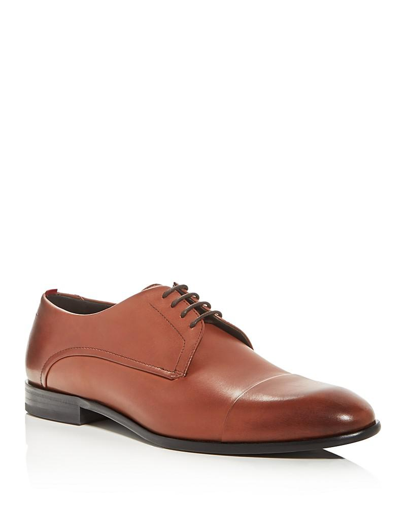 hugo boss dress appeal cap toe derby oxfords