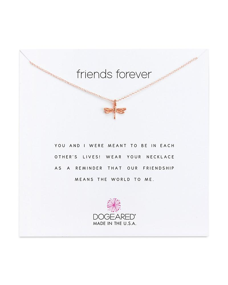 dogeared friends forever necklace, 16""