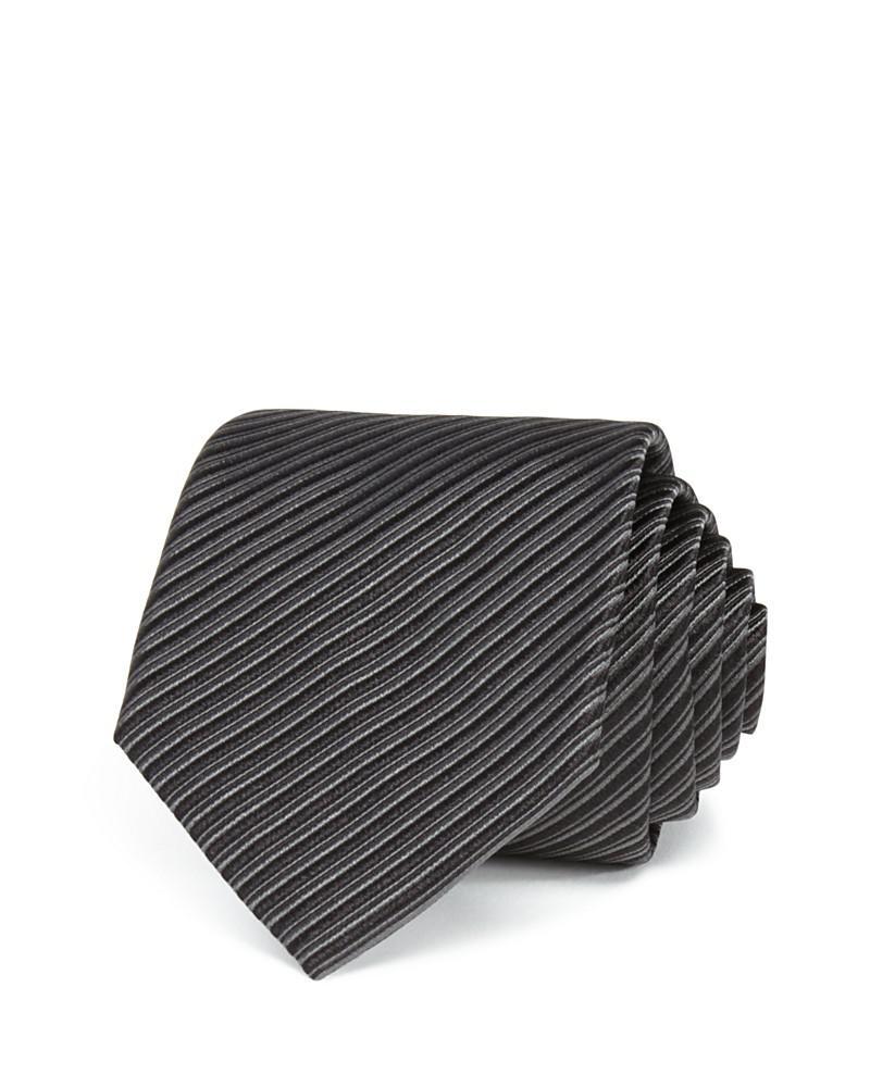 armani collezioni fine diagonal stripe classic tie