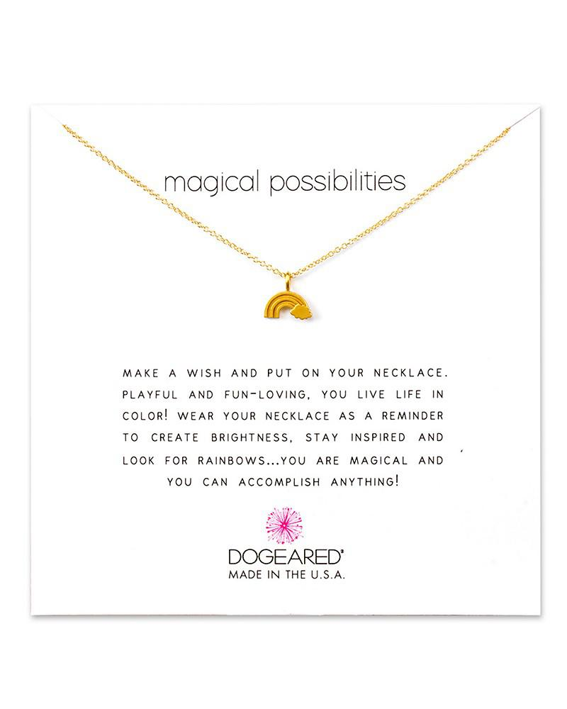 """dogeared magical possibilities necklace, 16"""""""