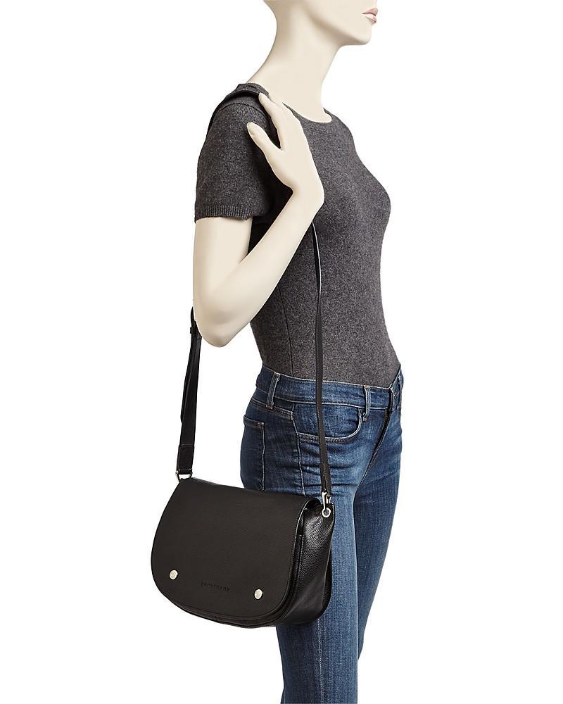 Fashion bags | Longchamp Le Foulonne Leather Saddle Bag | Modysta