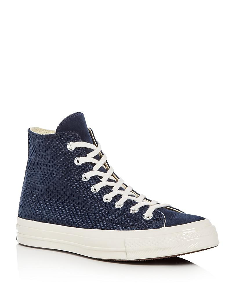 converse men's chuck taylor all star 70 woven high top sneakers