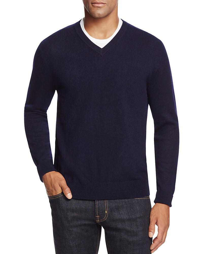 the men's store at bloomingdale's cashmere v-neck sweater