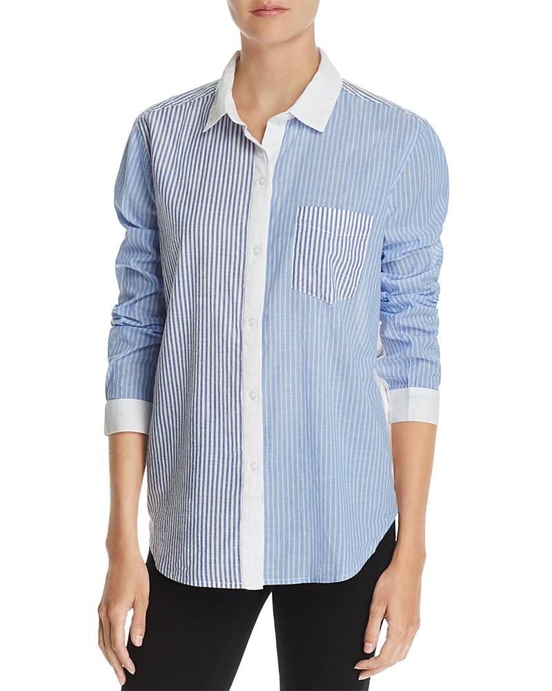rails emory striped shirt