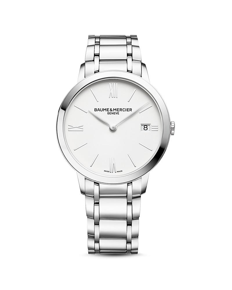 baume & mercier classima 10356 watch, 36.5mm