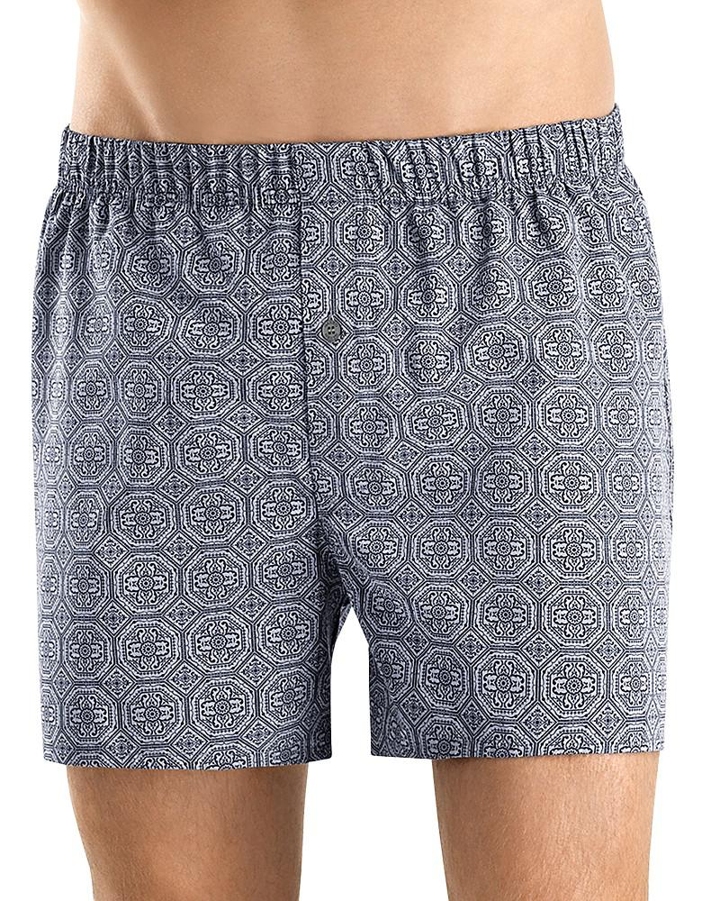 hanro fancy woven boxers