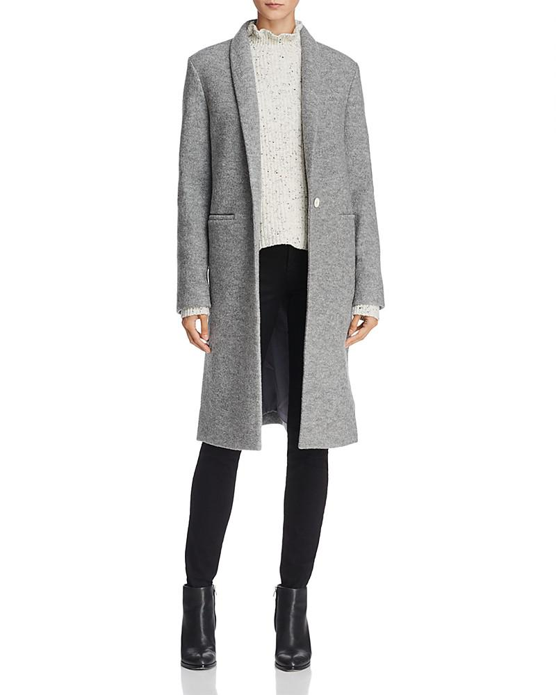 dylan gray virgin wool cardi coat - 100% exclusive
