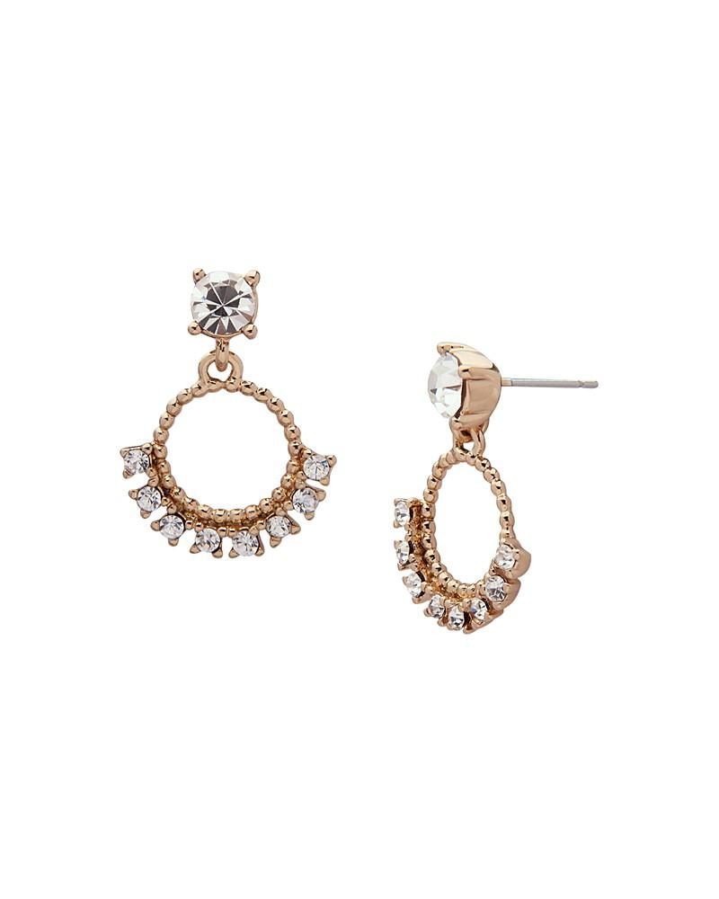 marchesa orbital drop earrings