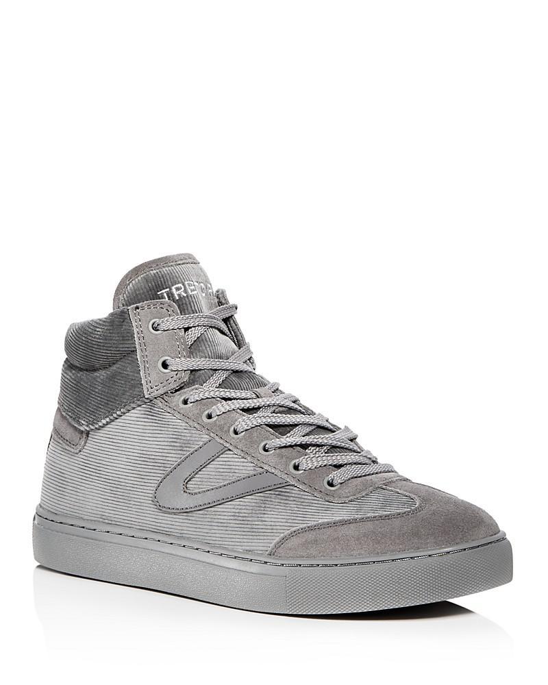 Jack Corduroy \u0026 Suede High Top Sneakers