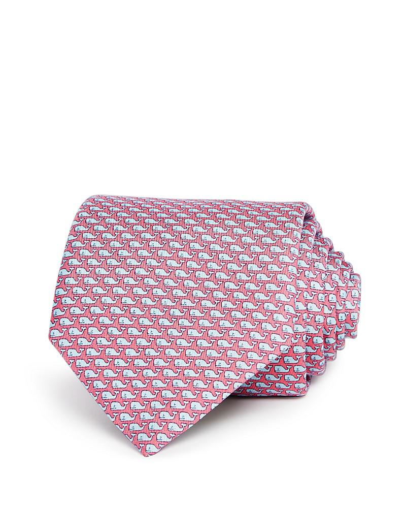 vineyard vines whale wide tie