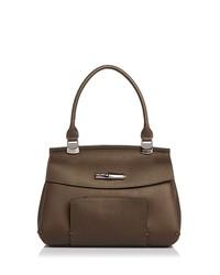longchamp madeleine leather shoulder bag