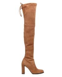 stuart weitzman women's hiline suede over-the-knee boots