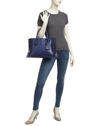 longchamp penelope fantaisie small leather tote