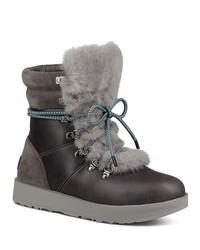 ugg® viki waterproof leather & sheepskin boots