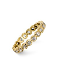 temple st. clair 18k gold eternity ring with diamonds