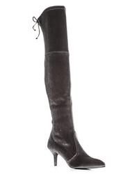 stuart weitzman women's tiemodel velvet over-the-knee boots