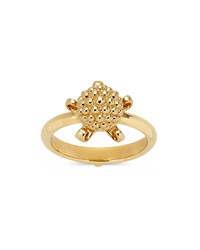 temple st. clair 18k yellow gold mini pod ring with diamond