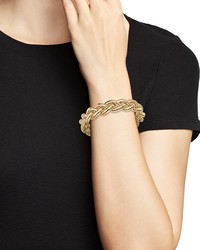 14k yellow gold braided tubogas bracelet - 100% exclusive