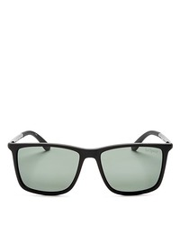 le specs tweedledum polarized square sunglasses, 55mm