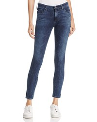 ag contour 360 ankle denim leggings in faint vision