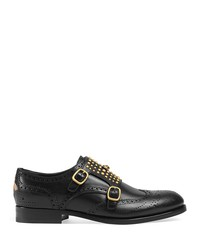 gucci iowa double monk strap loafers
