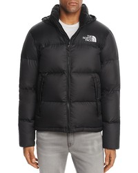 the north face® novelty nuptse hooded puffer jacket
