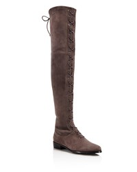 stuart weitzman women's exes suede over-the-knee boots