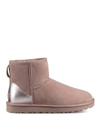 ugg® classic mini ii metallic accent boots