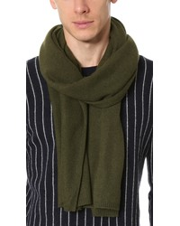 club monaco carson scarf dark olive