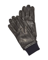 s.n.s. herning redundant leather driving gloves blue brain