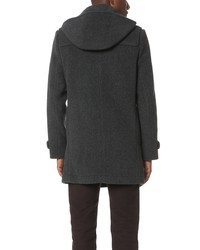 carven hooded duffle coat