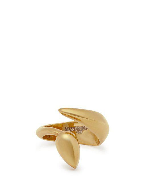 snake-shaped gold ring