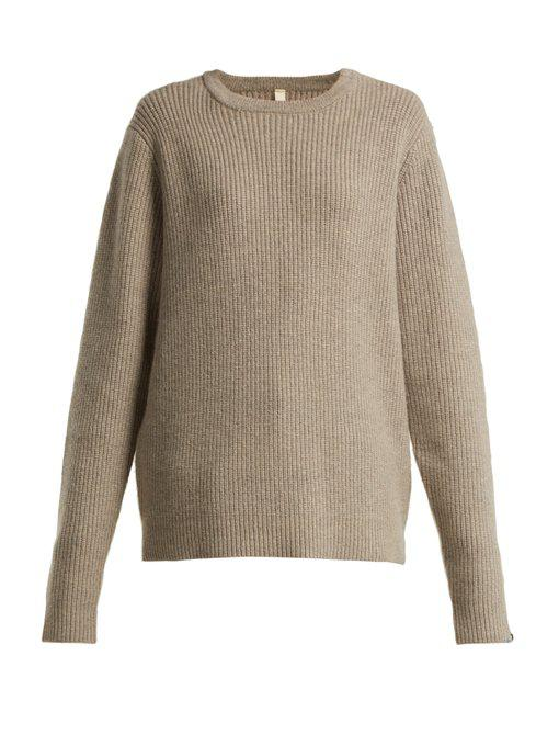 no. 84 be unic cashmere-blend sweater