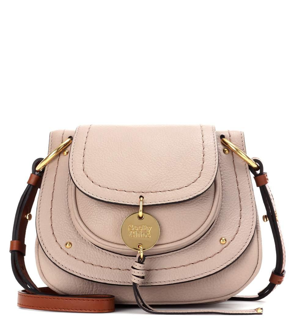 susie small leather shoulder bag