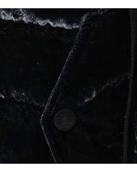 velvet down jacket