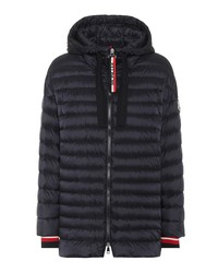benitoite quilted down jacket