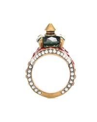crystal-embellished ring