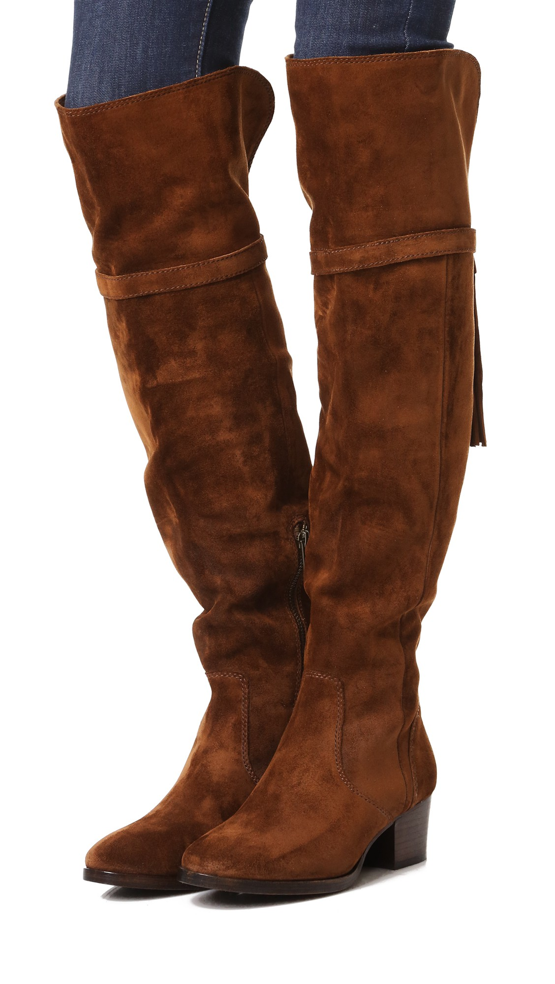 Frye Embellished Knee-High Boots pick a best for sale find great clearance websites 2Q0vh6Go