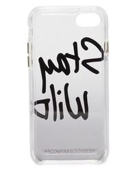 rebecca minkoff stay wild iphone 7 case
