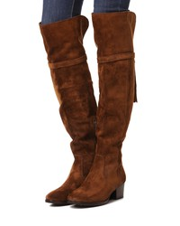 frye clara tassel over the knee boots