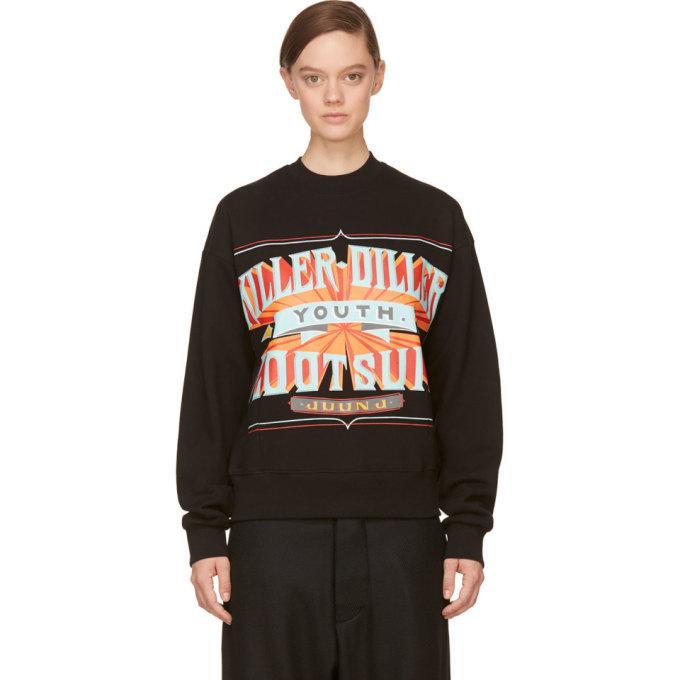 black killer-diller new era edition sweatshirt