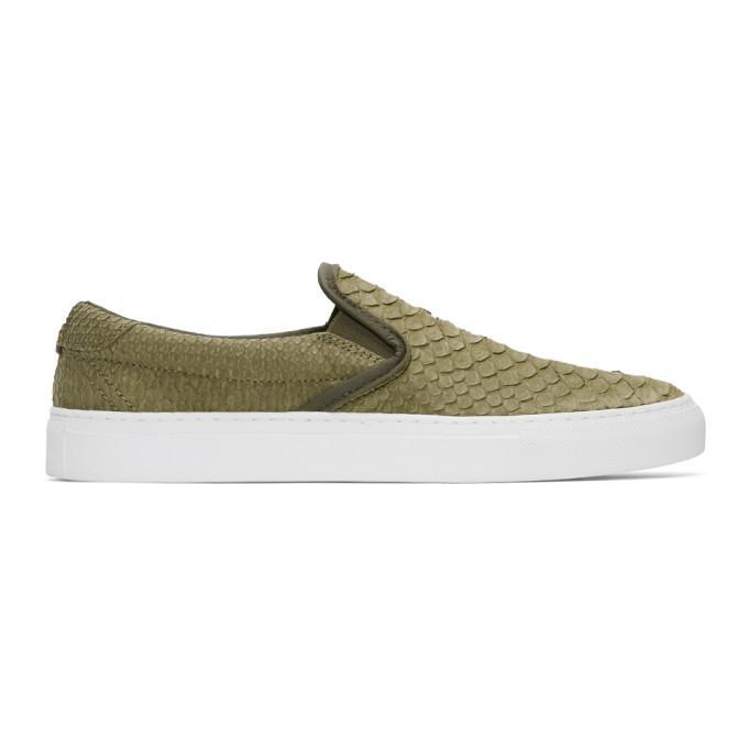 green python garda slip-on sneakers