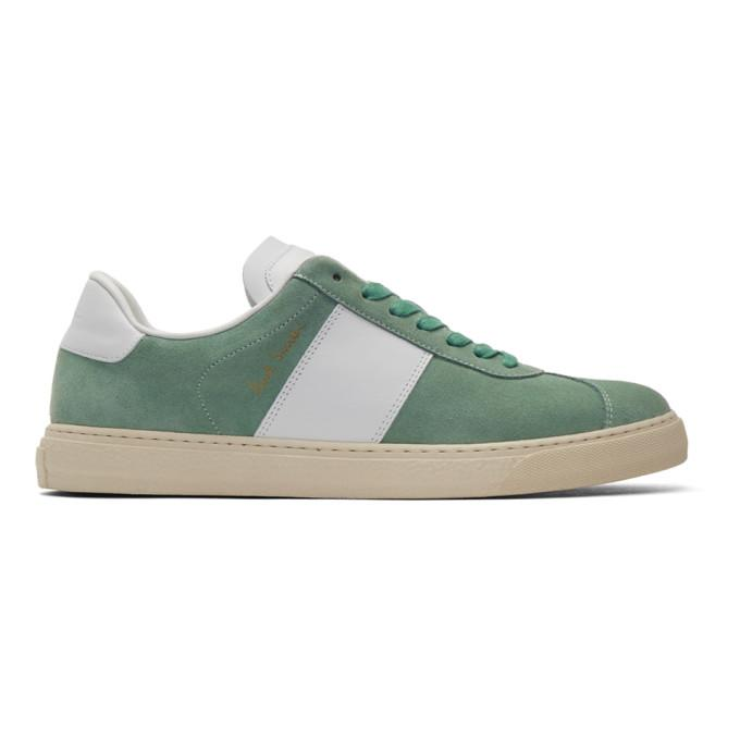 green & white levon sneakers