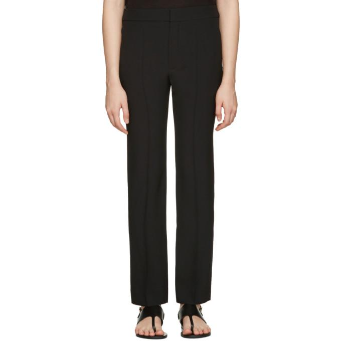 black cady trousers