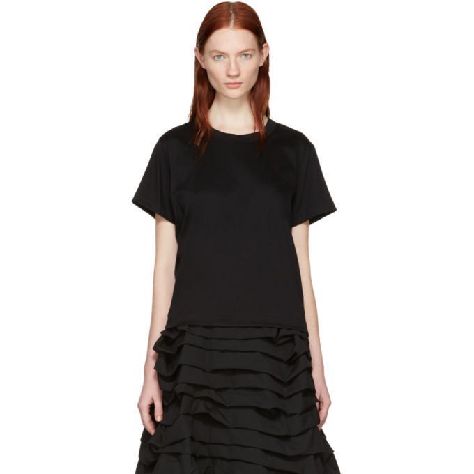 black grosgrain tape t-shirt
