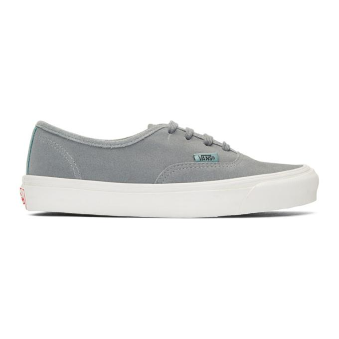 grey suede og authentic lx sneakers