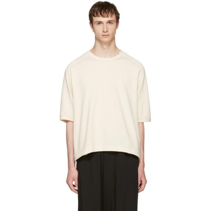 beige window waffle t-shirt