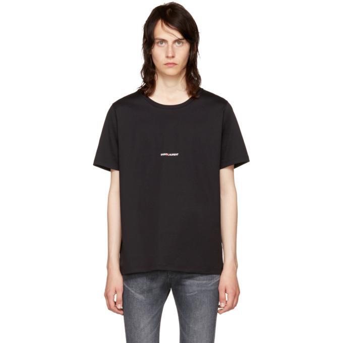 black rive gauche t-shirt